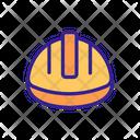 Helmet Head Worker Icon