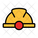 Helmet Protection Mining Helmet Icon