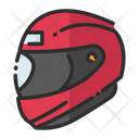 Helmet Rider Helmet Protection Icon