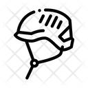 Protection Helmet Alpinism Icon
