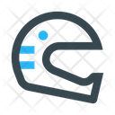 Helmet Safety Protection Icon