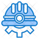 Helmet Gear Protection Icon