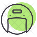 Helmet Motorcycle Safety Icon