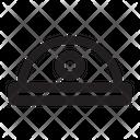 Helmet Work Building Icon