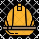 Helmet Security Construction Icon