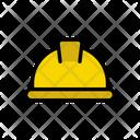Helmet Safety Worker Icon