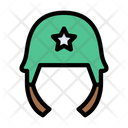Helmet Safety Military Icon