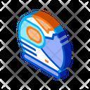 Astronaut Cosmonaut Helmet Icon