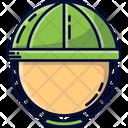 Helmet Militant With Helmet Soldier Icon