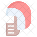 Helmet Rugby Ball Icon