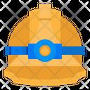 Helmet Construction Tools Icon