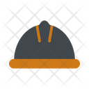 Construction Helmet Protection Icon