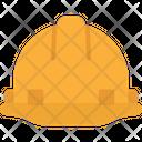 Helmet Engineering Protection Icon