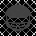 Helmet Sports Man Icon