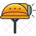Helmet Light Icon