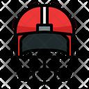 Helmet Safety Sport Icon