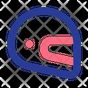Helmet Motor Sport Icon