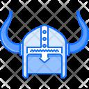 Helmet Horn Viking Icon