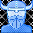 Helmet Viking Civilization Icon