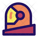 Helmet Space Face Icon