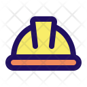 Helmet Construction Safety Icon