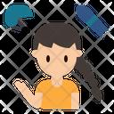 Helmet Skater Protection Icon