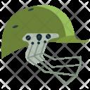 Cricket Helmet Protection Icon