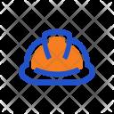 Helmet Construction Safety Icon
