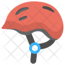 Helmet Cycle Head Icon