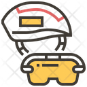 Helmet Safety Transportation Icon