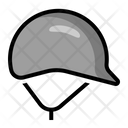 Helmet Head Protector Icon