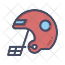 Helmet Rugby Head Icon
