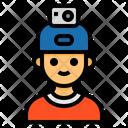 Helmet Camera Action Camera Helmet Icon
