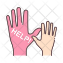Help Supporting Hand Hands Icon