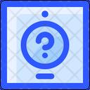 Help Button Toilet Icon