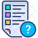 File Help Question Icon