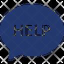 Help Online Support Icon