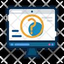 Website Help Information Icon