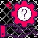 Help Gear Setting Icon