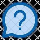 Help Question Bubble Icon