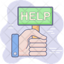 Customer Support Help Icon