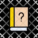 Faq Help Book Icon