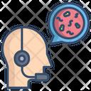 Help Center Virus Information Center Operator Icon