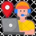 Help Center Location Icon