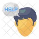 Help Chat Help Communication Help Message Icon