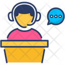Help Desk Customer Service Icon