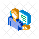 Help Desk Representative Icon