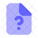Help File Support File Question Icon