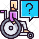 Disabled Cripple Disability Problem Icon