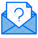 Customer Service Mail Support Icon